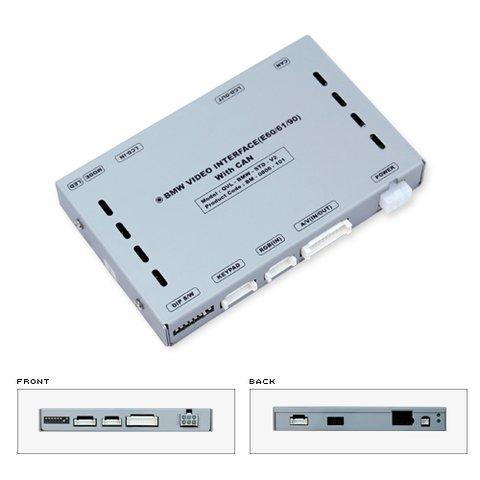 Видеоинтерфейс для BMW BMW E60, E61, E90, E70 и  X5/ X6