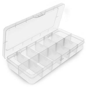 Utility Component Storage Box Pro'sKit 203-132F (260x115x43.5 mm)