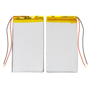 Battery, (98 mm, 52 mm, 4.5 mm, Li-ion, 3.7 V, 2500 mAh)