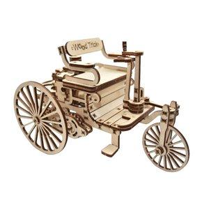 Mechanical 3D Puzzle Wood Trick First Car