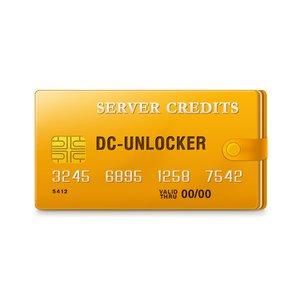 DC-unlocker Créditos de Servidor