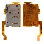 Conector de tarjeta SIM puede usarse con Nokia 701, C7-00, con cable flex