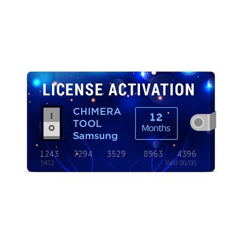 Activación de licencia para Chimera Tool Samsung