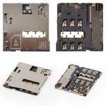 Conector de tarjeta SIM para tablet PC Samsung T211, T235 Galaxy Tab 4 7.0 LTE