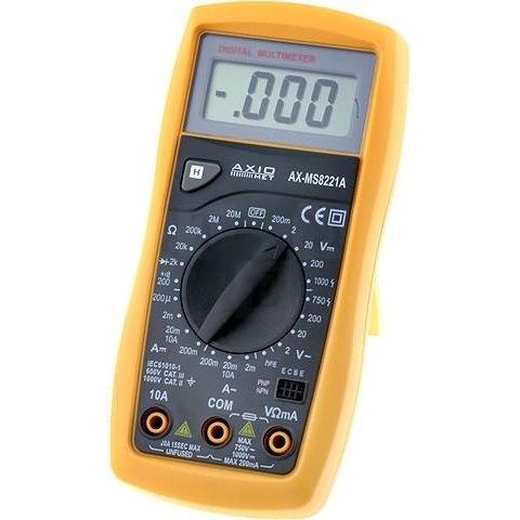 Цифровий мультиметр AXIOMET AX MS8221A з зумером