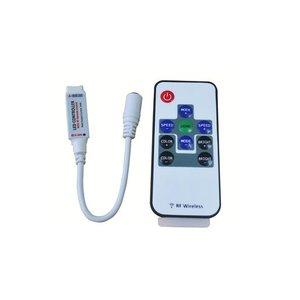 Контроллер с беспроводным пультом HTL-005 (RGB, 5050, 3528, 48 Вт)