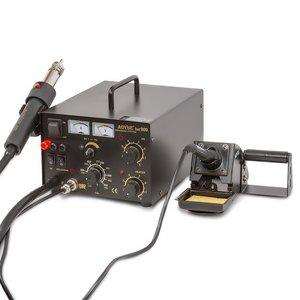 Estación de soldadura de aire caliente AOYUE 909 con función de fuente de alimentación + cautín