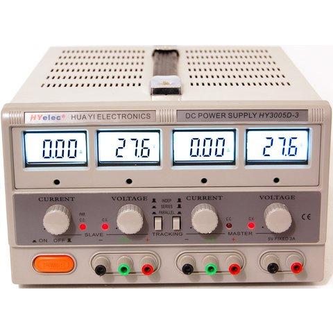 Power Supply HYelec HY3005D 3 LCD Display; 0 30V; 0 5A