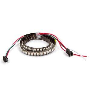 Tira de luces LED RGB SMD5050, WS2812B (con controles, IP20, 5 V, 144 LED/m, 5 m)